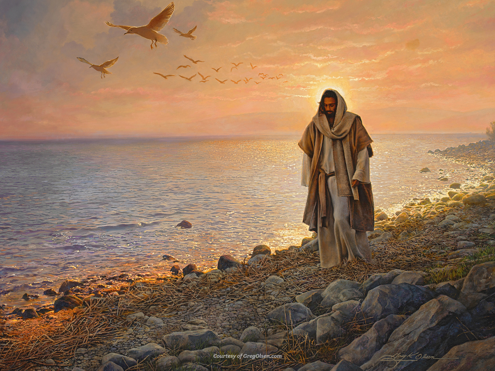 Image by Greg Olsen - Used with Permission GregOlsen.com